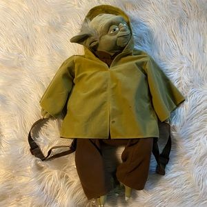 Disney's yoda plush backpack
